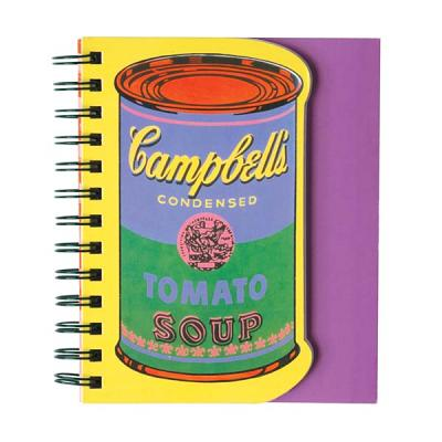 Andy Warhol Soup Can Layered Journal By Warhol, Andy (CON)